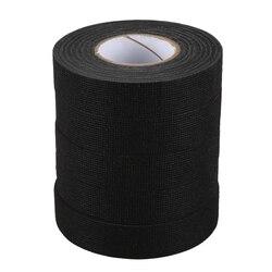 5Pc odporny na wysoką temperaturę taśma wiązki przewodów unosi się kable w wiązce tkaniny taśma klejąca ochrona kabla 19Mm X 15M w Taśma od Majsterkowanie na