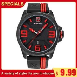 NAVIFORCE Men's Analog Quartz Watch Fashion Men Watches Male Waterproof Wrist Watches Relogio Masculino