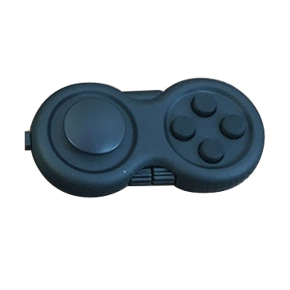 1pcs Decompression Handle Four Generations Gamepad Decompression Magic Cube Handle Fidget Pad Anti-Irritability Sieve