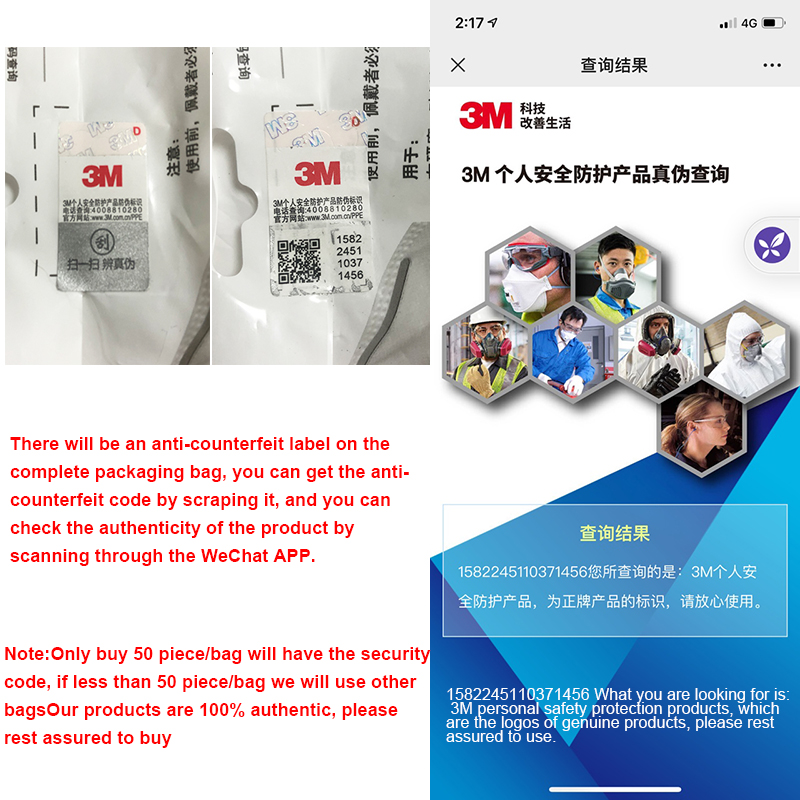 3M 9501+ Mask Particulate Protective Masks Safety Mask Disposable Face Mask Sanitary Working Respirator 3M KN95 Mascarilla 5