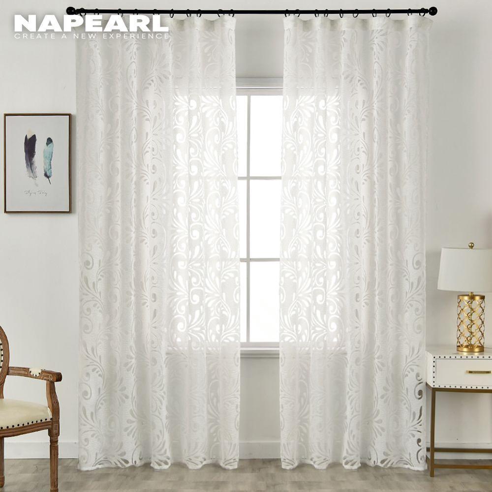 Prêt à l'emploi semi-occultant rideaux panneau aveugle tissus pour fenêtre violet rideaux salon fenêtre traitement violet noir blanc