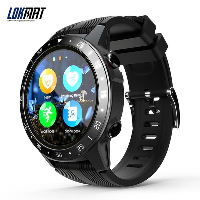LOKMAT SMA TK05 Smart Watch 1.3inch Screen BT3.0+4.0  Pedometer Heart Rate Alarm Remote Camera GPS Sports Smartwatch Men Women