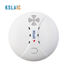 433MHz Wireless Smoke Detector Fire Alarm Sensor Independently Or For 1527 Wifi GSM Office Home Security Alarm System Anti-Fires