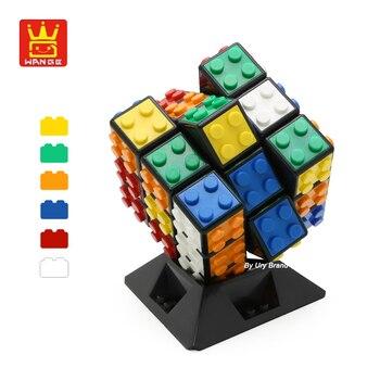 Creators Series Blocks Magico Cube Professional 3x3x3 Classical DIY Enlighten Educational Building Blocks Toys For Children Gift
