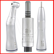 free shipping Dental Inner Water Spray Low Speed Handpiece Contra Angle Cone Air Motor 1 pcs x dental slow speed straight handpiece with external water irrigation spray tube free shipping