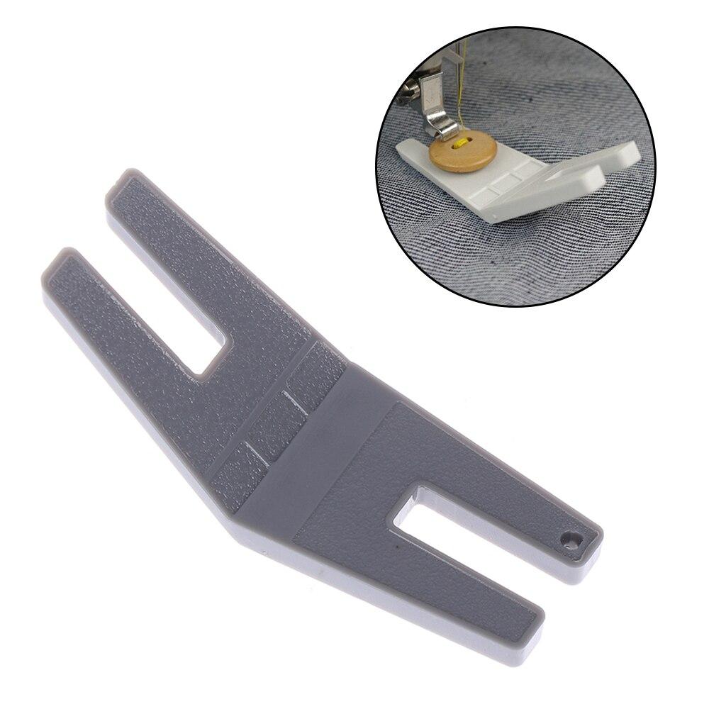 1 шт Клиренс пластина Кнопка тростниковый прижимник для ног горб джемпер для швейных машин случайный цвет