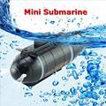 Мини радиоуправляемая подводная лодка с дистанционным управлением Дрон Pigboat моделирование с светодиодный светильник RC игрушка в подарок д...