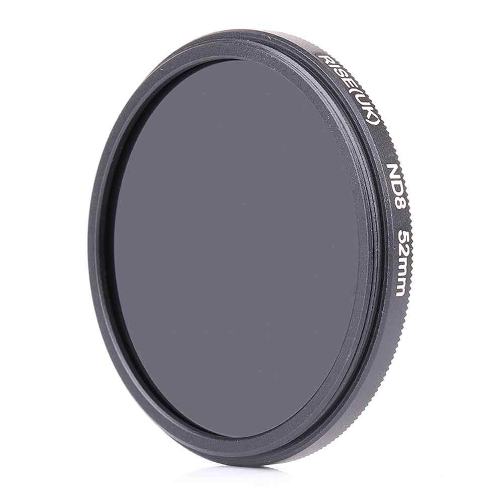 Naik (Inggris) 52 Mm Kepadatan Netral ND8 Filter untuk Setiap 52 Mm Lensa DSR Kamera Dlsr