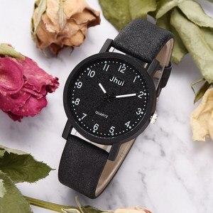Image 3 - למעלה מותג נשים שעונים אופנה עור שעון יד נשים שעונים גבירותיי שעון שעון מתנה zegarek damski Relojes Mujer 2019