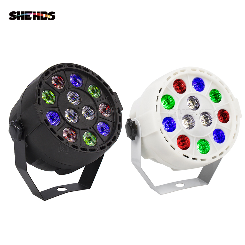 (2pcs) Sale Hot RGBW 12x3W Led Par Light DMX Stage Effect Lighting RGBW Par Led Lamp Home Party Lights For Entertainment
