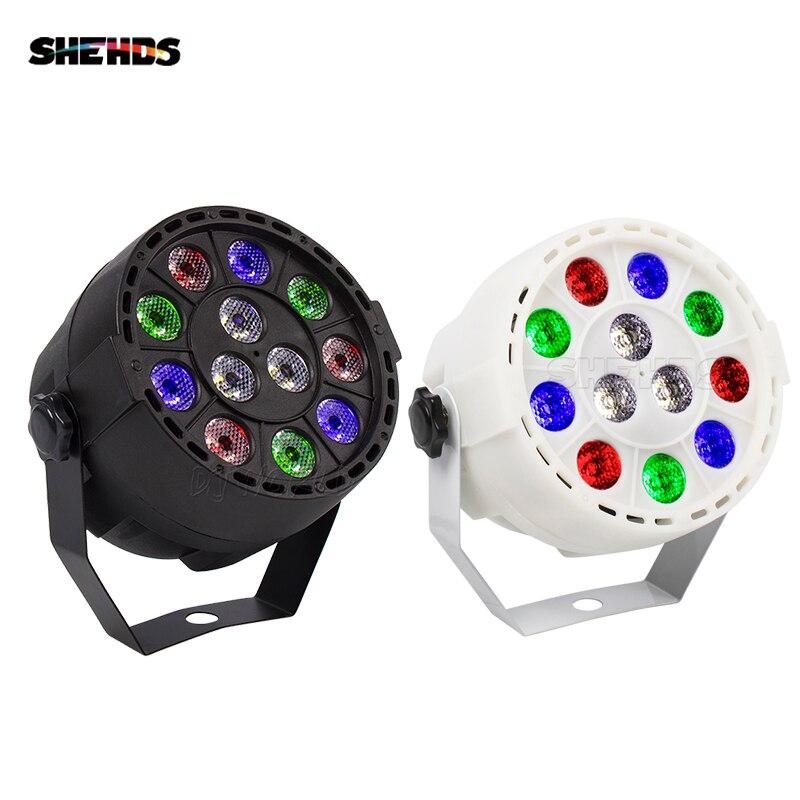 (2pcs) Sale Hot RGBW 12x3W Led Par Light DMX Stage Effect Lighting RGBW Par Led Lamp Home Party Lights For Entertainment