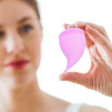2 sztuk silikonowy kubek menstruacyjny klasy medycznej pani Copa menstruacyjny kolektor higieny kobiecej miesiączkowego okresu puchar