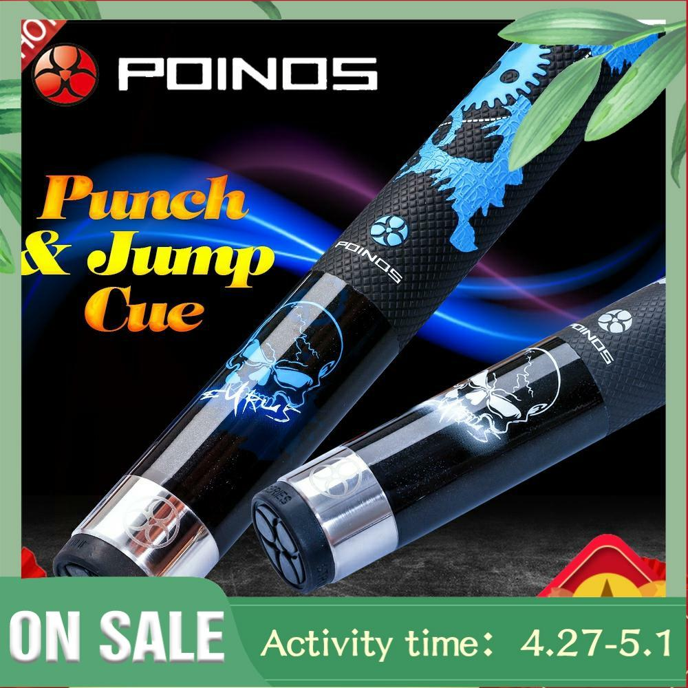Cheap Price POINOS KL Break Punch & Jump Cue Billiard 13mm Tip 147cm Length 2 Colors Billar Stick Kit Cue wIth Many Gifts 2019