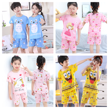 Baby Kids Pajamas Boys Cotton Clothes Pants Set Cartoon Sleepwear Kids Pajamas For Girls