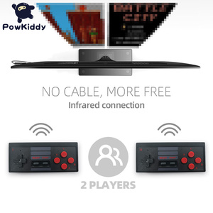 Image 3 - POWKIDDY S3 Video Game Console USB 8 Bit TV Wireless Handheld Mini Game Console Build In 628 Classic Dual Gamepad HDMI/AV Output