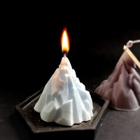 3D Iceberg Candle Mould For DIY Candle Making Soap Mold Aroma DIY Silicone Mould Christmas Decorative Molds