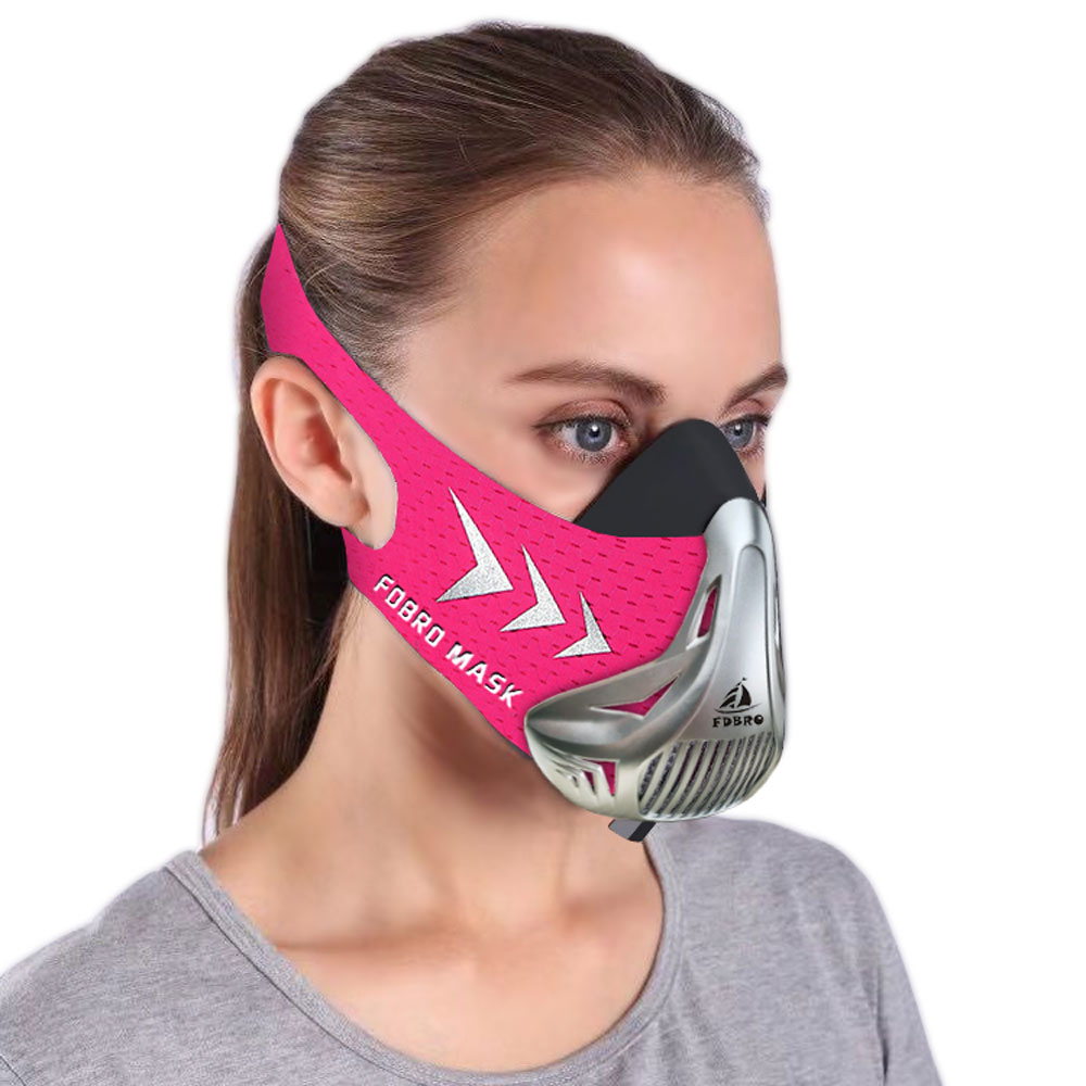 FDBRO Sports Running Mask Training Fitness Gym Workout Cycling Elevation High Altitude Training Conditioning Sport Masks 3.0