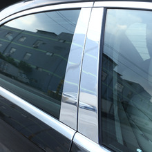 For Mercedes Benz W222 S Class S400L S320L S500 2014 2019 Car Accessories Window Molding Trim Aluminum alloy