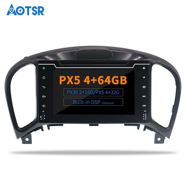 AOTSR-lecteur Bluetooth 2 Din   Radio DSP 9.0/10.0, Android 2012, pour Nissan Juke Infiniti ESQ 2013, 2014 et 2017 voiture, Navigation GPS, téléphone portable