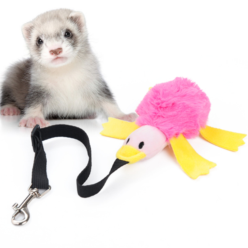 Bungee Dog Toy Assorted Colors For Dogs Ferret Duck Toy For Dogs Plush Stuffed Toys For The Dog Dog Supplies Dog Accessories
