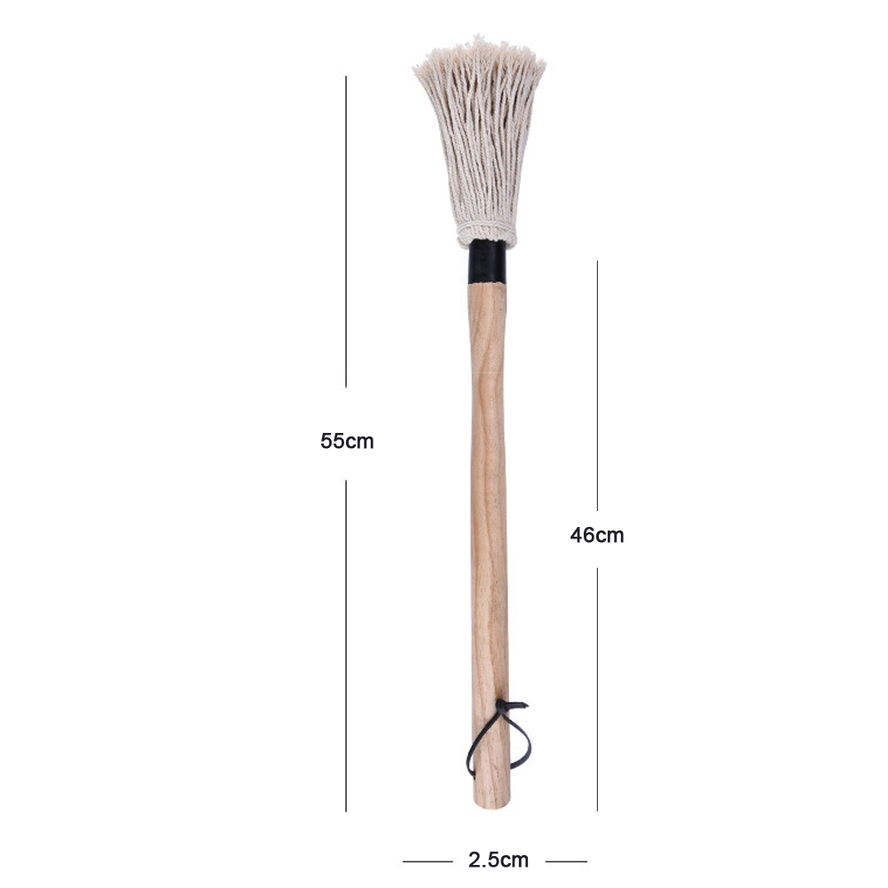 21 6inch Grill Basting Brush BBQ Mop Professional Bread Chef Pastry Oil Butter Paint Brush Kitchen Baking Honey Barbecue Tool B4 in Basting Brushes from Home Garden