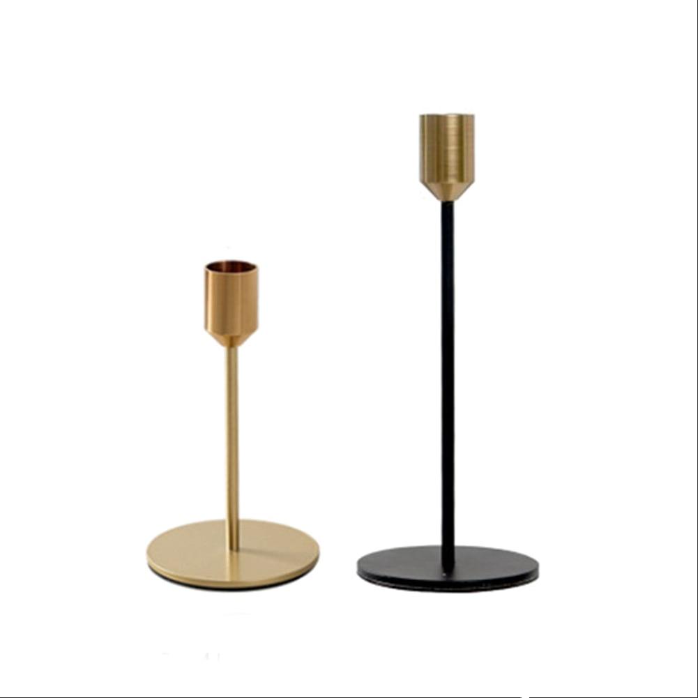 Hot Sale Modern Minimalist Candlestick Model Room Restaurant Decoration  Iron Candle Holder Ornaments Metal Crafts home decor
