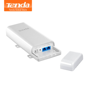 Tenda O3 5KM 2.4GHz 150Mbps Outdoor CPE Wireless WiFi Repeater Extender Router AP Access Point Wi-Fi Bridge with POE Adapter 1