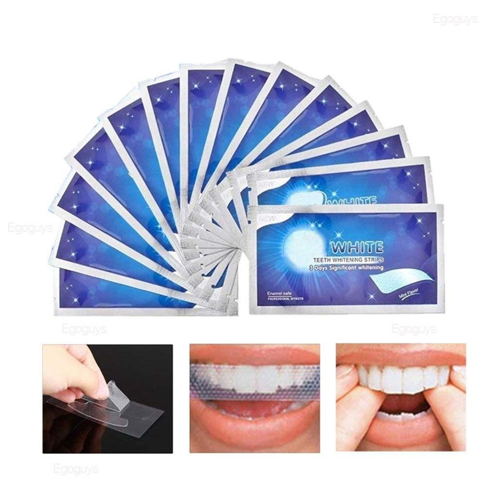 Полоски для отбеливания зубов 28 шт./14 пар, комплект для удаления пятен и белого геля, гигиена полости рта, инструменты для отбеливания
