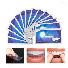 28 pces/14 pares de dentes branqueamento tiras remoção de manchas gel branco kit dente higiene oral cuidados tira limpa ferramentas branqueamento