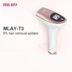 ليزر ازالة الشعرجهاز ليزر لازالة الشعرجهاز ليزر لازالة الشعر   Mlay laser T3 2020  Depilador a Laser IPL Hair Removal Machine