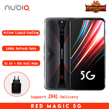 2020 New Nubia Red Magic 5G Global Version Gaming phone Snapdragon 865  8/12 GB RAM 128/512GB ROM 144Hz refresh rate Smartphone