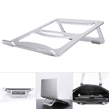 Portable Aluminum Alloy Laptop Stand Foldable Adjustable Holder Rack for Desktop Tablet GV99
