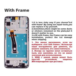 "Image 5 - Original 6,21 ""Für Huawei Honor 10 Lite LCD Display Touchscreen Digitizer Für Huawei Honor 10 Lite Display LCD ersatz Teile"
