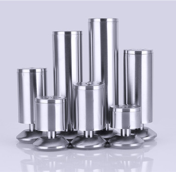 6-30cm Adjustable Stainless Steel Furniture Legs Cabinet Table Sofa Bed Feet - sale item Furniture Parts