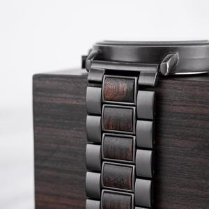 Image 5 - BOBO BIRD Wood Watch Men Stopwatch erkek kol saati Wooden Wristwatches Male Show Date Create Gift  saat erkek relogio masculino
