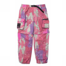 Spring Men's Pants Casual Cargo Pants Men Detachable Shorts Camouflage Pants Women's Pants Couple Clothing Co-branded Pants