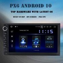 Dasaita אנדרואיד 10.0 אוניברסלי רכב רדיו 2 דין מולטימדיה נגן DSP 4GB RAM 64GB ROM TDA7850 Bluetooth MAX10