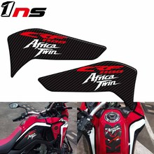 Motorcycle Carbon Fiber Fuel Tank Pad Side Box Knee Pad Scratch Protective Sticker for Honda CRF1100L Africa Twin 2020