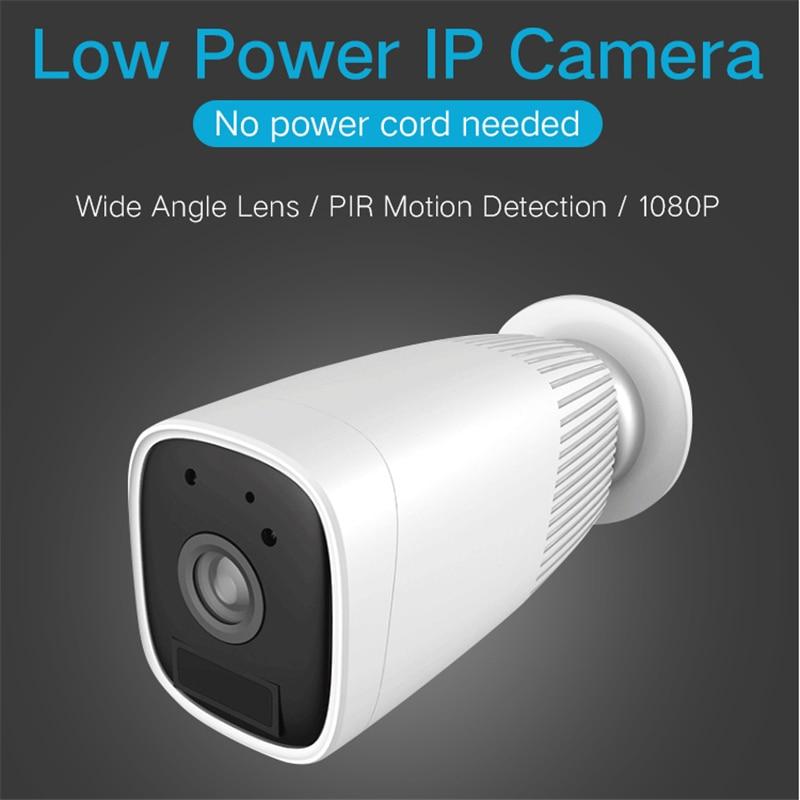 Baby Sleeping Monitor HD 1080P Battery Camera Hotspot IP55 Waterproof Wireless IP Camera PIR M-otion Detection Home WIFI Camera