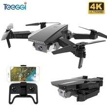 Teeggi M71 RC الطائرة بدون طيار مع 4K HD كاميرا قابلة للطي طائرة ذات أربع مراوح صغيرة واي فاي FPV Selfie طائرات بدون طيار لعب للأطفال بدون طيار VS SG106 SG107 E68 E58