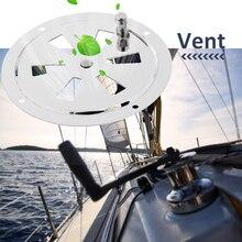 Вентиляционное отверстие для лодок из нержавеющей стали с бабочкой, круглая вентиляционная и боковая ручка для яхты, морской RV и т. д., аксессуары для лодок