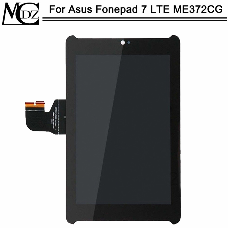 New ME372 For <font><b>Asus</b></font> Fonepad 7 LTE ME372CG ME372 KOOE <font><b>K00E</b></font> Display Panel Screen Monitor Touch Screen Digitizer Glass Assembly image