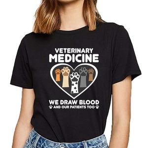 Женская футболка, топ, спасатель животных