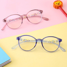 Голубой светофильтр компьютерные очки для блокирования УФ головной боли анти глазное напряжение прозрачные линзы игровые очки круглые прозрачные подростковые