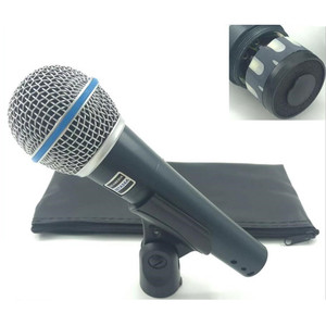 Image 1 - באיכות גבוהה גרסת Beta 58a ווקאלי קריוקי כף יד דינמי Wired מיקרופון BETA58 Microfone מייק Beta 58 A Mi