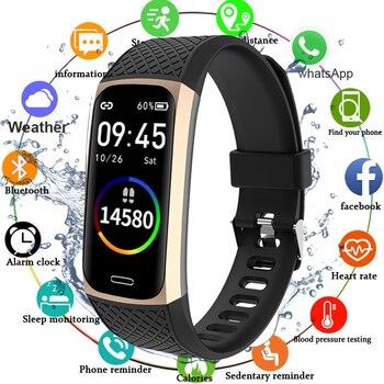 2020 Smart Bracelet Watch Men Women Blood Pressure Fitness Bracelet Heart Rate Monitor Fitness Tracker Waterproof Smart Band