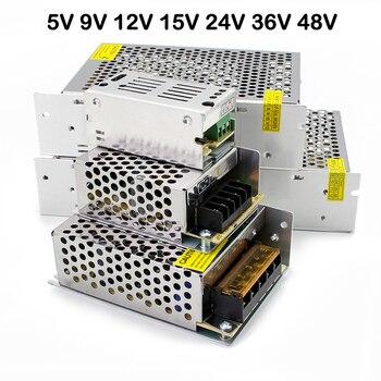 5V 9V 12V 15V 24V 36V 48V Power Supply Transformer 220V Led Power Supply 5V 9V 12V 15V 24V 36V 48V smps For LED Strip Light cctv 25w 12v power supply 5v 5a smps input 110v 220v ac to dc 12v 2a power supply for led screen 5v 24v 48v 220v led power supply