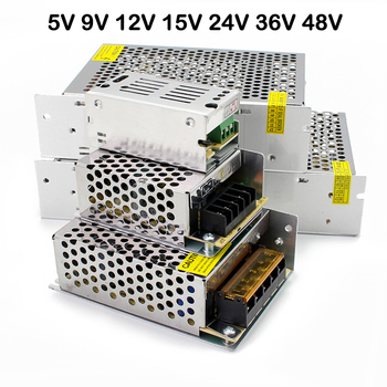 5V 9V 12V 15V 24V 36V 48V Power Supply Transformer 220V Led Power Supply 5V 9V 12V 15V 24V 36V 48V smps For LED Strip Light cctv image