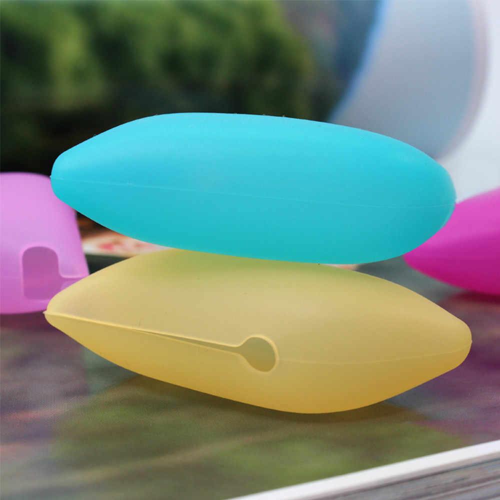 1 * Silikon Lucu Pesawat Kepala Sikat Gigi Penyimpanan Kotak Pemegang Perjalanan Portable Sikat Gigi Kepala Penutup Perjalanan Pelindung Case f94