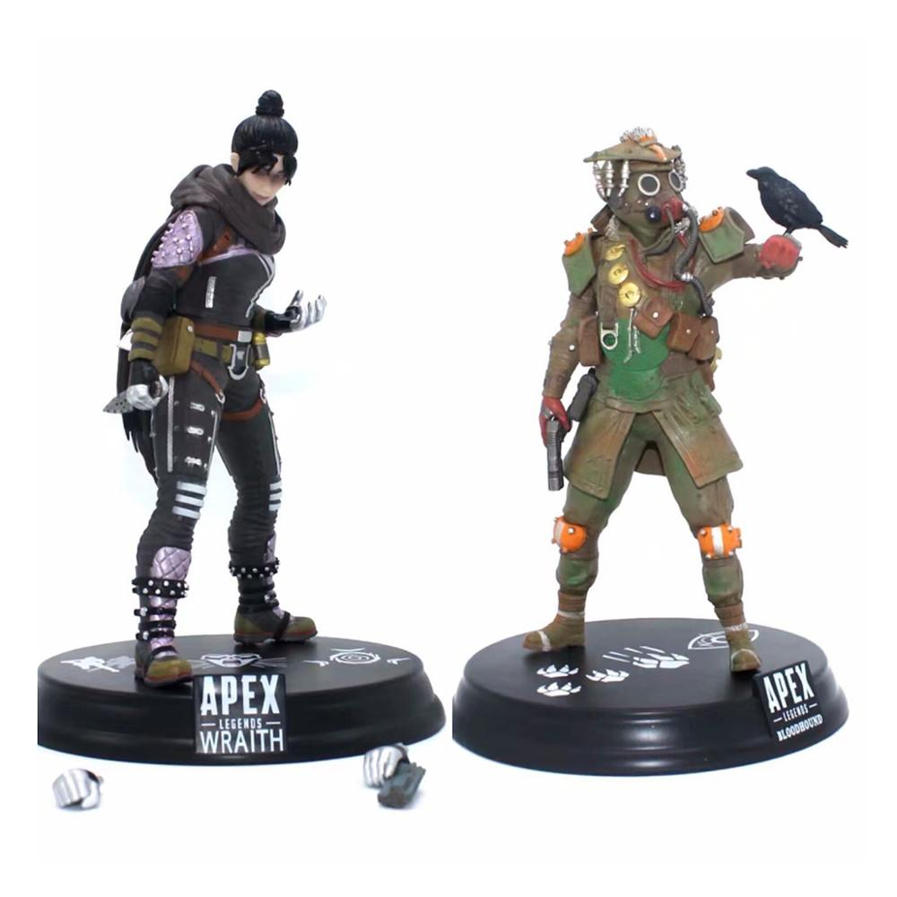 Hot Game <font><b>Apex</b></font> legends Wraith / Bloodhound PVC Statue Figure Collectible Model <font><b>Toy</b></font> image